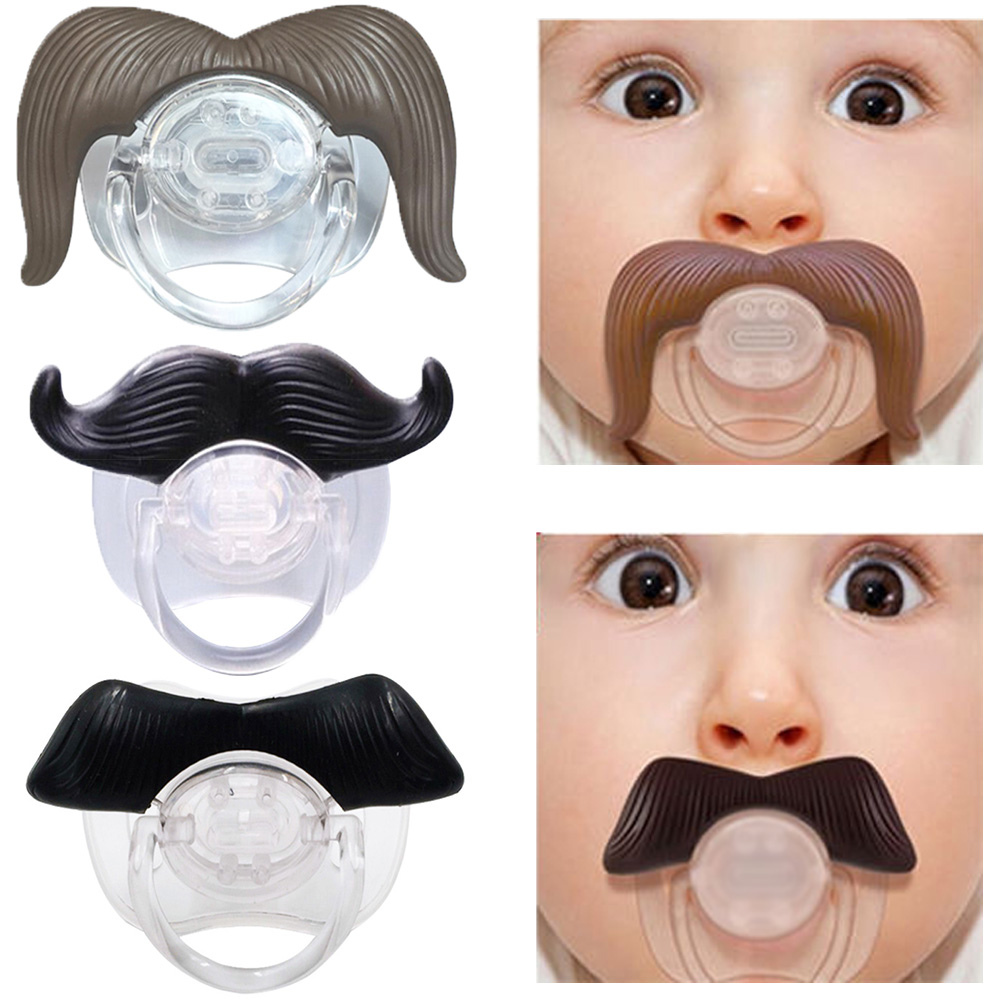 Silicone Funny Nipple Dummy Baby Pacifiers Soother Joke Prank Toddler Orthodontic Nipples Teether Baby Pacifier