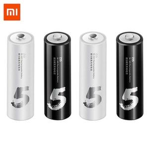 Image 1 - ZMI Lote de baterías recargables de 700mAh, lote de 4 unidades, ZI7 ZI5 AAA, AA, 1800mAh, 1,2 V
