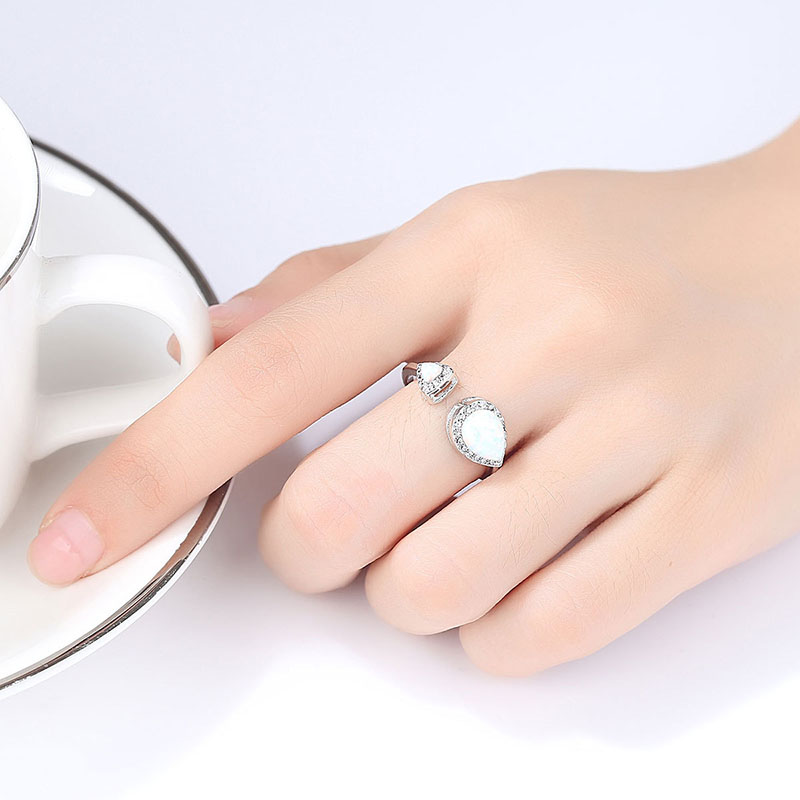 925 silver Gemstone Ring for women 4