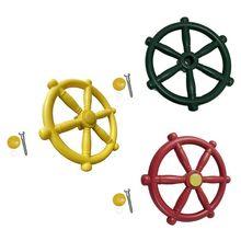 Toy Boat Swing-Accessories Playground Steering-Wheel Kindergarten Children New