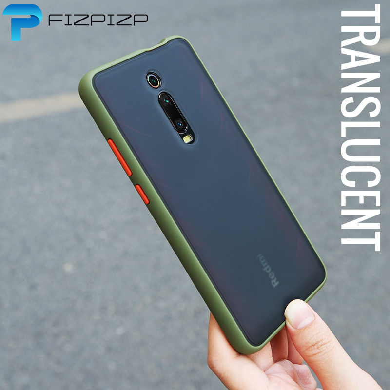 Shockproof Armor Case For Xiaomi Mi 9 Lite A3 9T PRO Mi Note 10 Cases Redmi Note 8T 7 7A 8A K20 K30 Note 8 Pro Skin Matte Cover