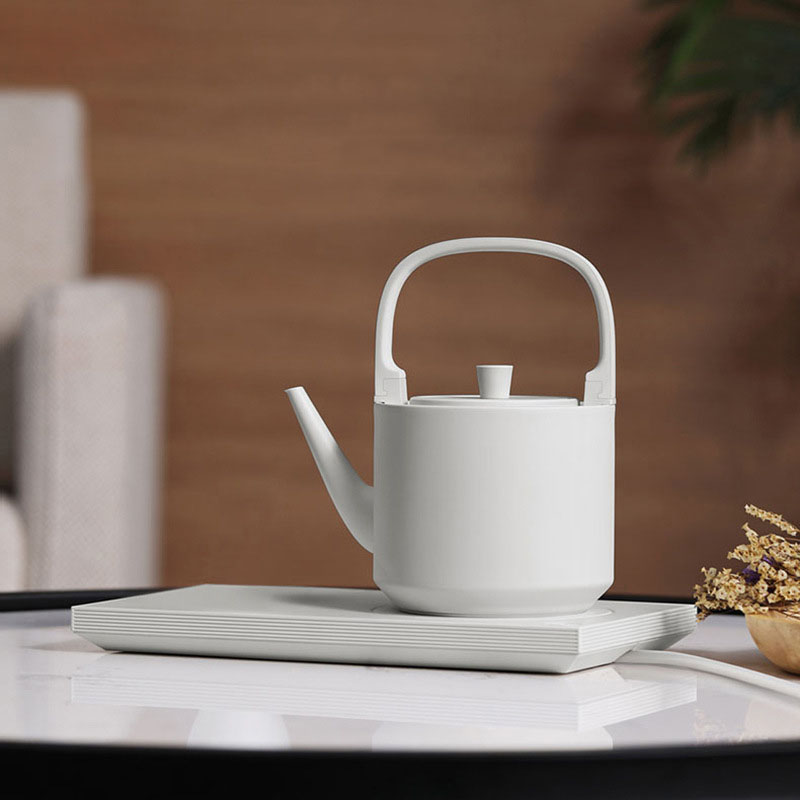 New Thermal Insulation Electric Water Tea Kettle 1000W Stainless Steel Water Boiler Healthy Pot Household Kitchen Appliances