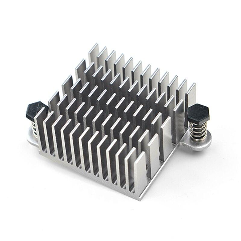 Heat Sink For NanoPC T2/NanoPC T3 High Quality Aluminum Heat Sink With Ears Radiator Cooler 30*28*15mm NP020