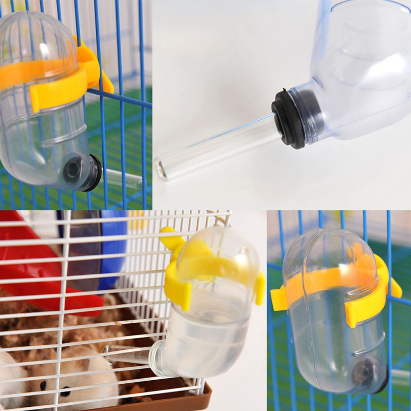 High Quality Automatic Drinking Device Pets Hamster Leak-proof Water Bottle Rats Convenient Kettle Dispenser Feeding Products