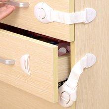 1 шт.% 2FLot ящик дверь шкаф шкаф туалет безопасность замки ребенок дети безопасность уход пластик замки ремни младенец ребенок защита
