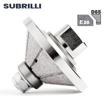 Wheel Diamond-Profile Angle-Grinder Concrete-Edge-Cutter E20-Stone SUBRILLI for Bevel