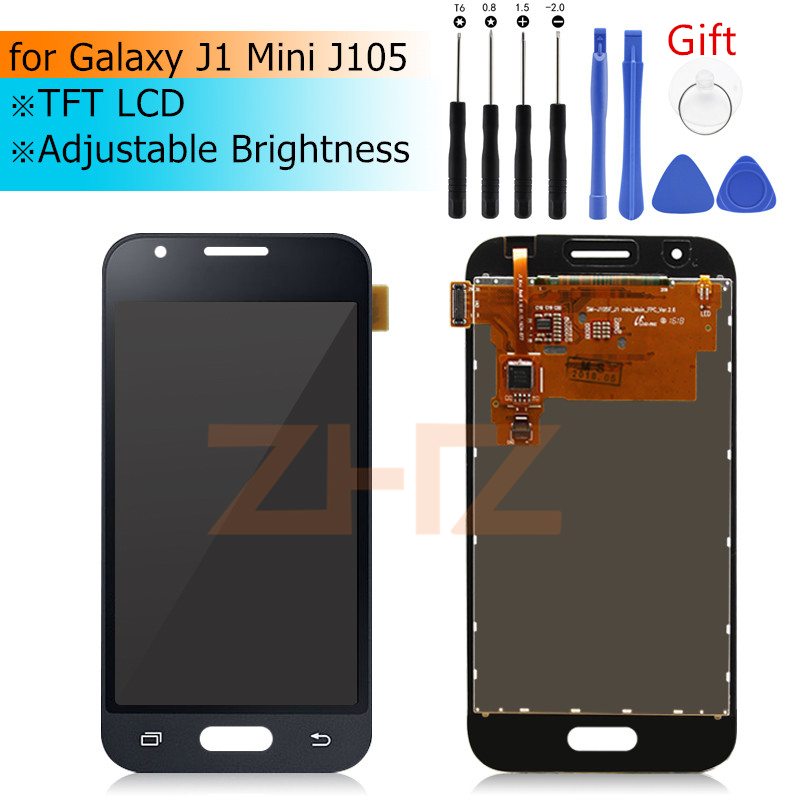Image 1 - for Samsung GALAXY J1 Mini LCD Display J105 Touch Screen Digitizer Assembly screen replacement Repair spair Parts-in Mobile Phone LCD Screens from Cellphones & Telecommunications