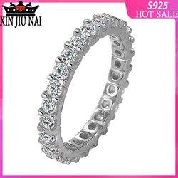 Женское Обручальное кольцо «вечное обещание», из серебра 925 пробы