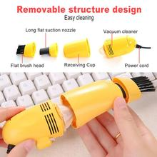 Portable USB Soft Computer Laptop Vacuum Cleaner Keyboard Ga