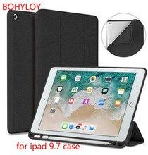 BOHYLOY New Case for Apple iPad 9.7 to 2017/2018 Case-Smart sleep wake up case droshipping