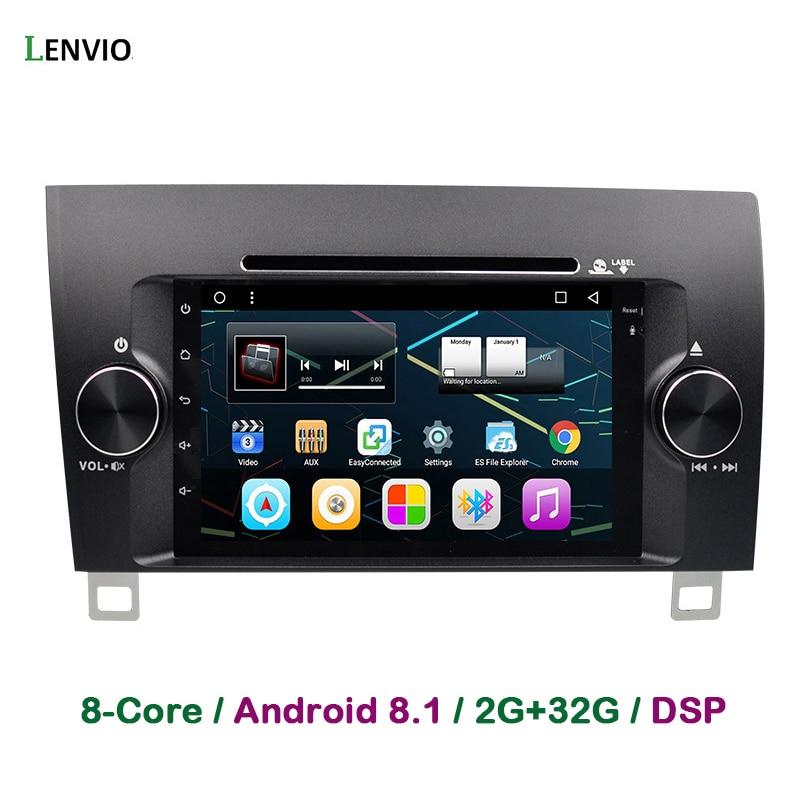 Lenvio DSP RAM 2GB + 32GB 2 Din Octa Core Android 8.1 lecteur DVD GPS de voiture pour Toyota Sequoia 2008-2014 toundra 2007-2013 Radio WIFI
