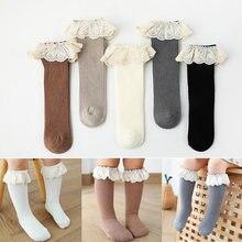 Гольфы для маленьких девочек длинные детские носки из мягкого