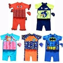 Дети спасательный жилет для малышей спасательный жилет для мальчиков и девочек детский спасательный жилет солнцезащитный плавающий спасательный детский купальный костюм