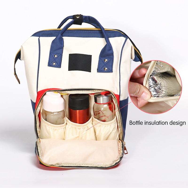 Large Capacity Mummy Bag Maternity Nappy Bag Travel Backpack Nursing Bag For Baby Care Women's Fashion Bag