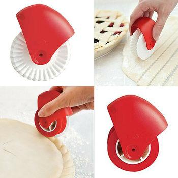 Plastikowe narzędzie do pieczenia ciast nóż do kół ciasto do pizzy wałek z siatką do ciasta do ciasteczek i ciast Craft akcesoria kuchenne tanie i dobre opinie CN (pochodzenie) Siekacze do ciasta Ekologiczne Na stanie Z tworzywa sztucznego CE UE pastry lattice cutter white + red