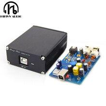 Интерфейсный USB декодер SPDIF ES9028Q2M + AD823 + SA9023 ES9038 DAC, компьютерная звуковая карта, усилитель для наушников, не требует питания