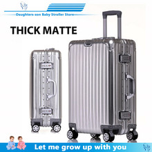 цена на Cheap aluminum travel suitcase 24 spinner 20 business luggage trolley case on wheel aluminum frame hardside Silent suitcase