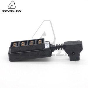 Image 4 - Man D Tap P Tap Naar 4 D Tap Vrouwelijke Hub Adapter