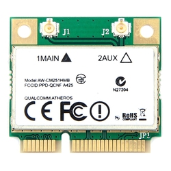 Wireless-ac dwuzakresowy dla Qualcomm Atheros Qca9377 Aw-Cm251Hmb Mini Pci-E karta wifi 433 mb/s Bt4.1 802.11Ac lepszy Intel 3160
