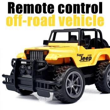 1:24 RC Car Super Big Remote Control Car Road Vehicle SUV Jeep off-road Vehicle 1/16 Radio Control Car Electric Toy Dirt Bike newest water and land amphibious remote control car large electric charge remote control off road vehicle drift children s toys