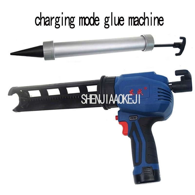 1PC DCPJ12E Electric Glue Gun Handheld Charging Lithium Electricity Glass Glue Gun Handheld Silicone Gun 12V