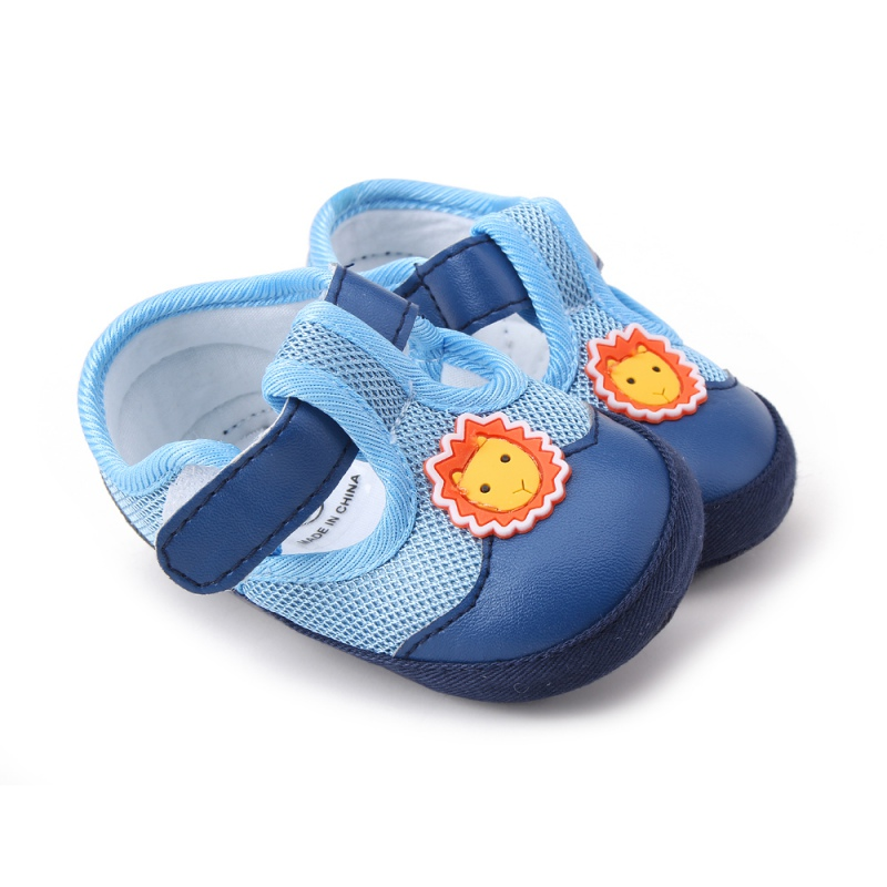 Baby Girls Boys Cotton Shoes Flower Bow Animal Soft Sole Shoe Infant Non-Slip First Walkers