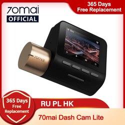 International 70mai Car DVR 1080P HD Dash board 70mai Lite Camera APP Control Driving Recorder 130 FOV GPS Speed Dash Cam