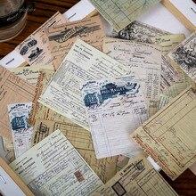 Mini matériel de fond de la série Rhapsody, rétro, Vintage, pour Scrapbooking, planificateur, Journal intime, papier pour travaux pratiques