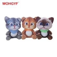 1pc 20cm Mini lindo gato de peluche juguetes de peluche animales de peluche gato de dibujos animados muñeca juguetes niños juguetes niñas regalos