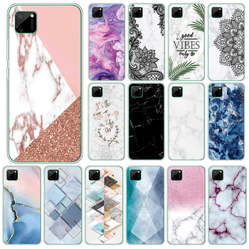 Marble TPU Case For Oppo Realme C11 4G Soft Silicone Back Cover For OppoRealme C11 C 11 RealmeC11 6.5 Phone Cases Fundas Coque image