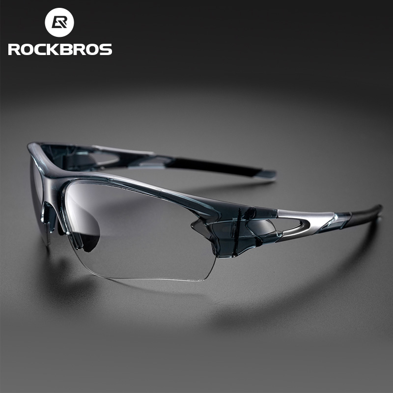 ROCKBROS Cycling Outdoor Bike Polarized&Photochromatic Glasses Sport Bicycle Sunglasses Goggles Myopia Frame Protection Eyewear