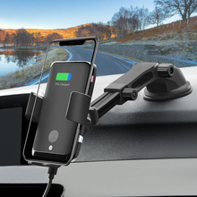 Car Wireless Charger,Smart Sensor and Fast Wireless,Car Mount Air Vent Phone Holder for iPhone 11/11 Pro/X/XR/Samsung S10 S9 S8
