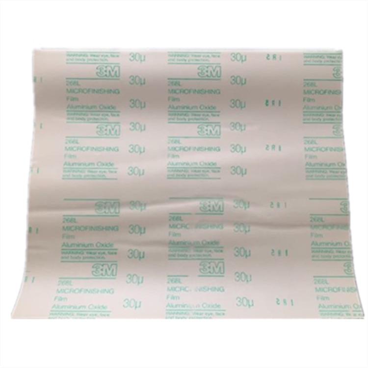 268L Plastic Sandpaper 300 X 350mm Film Sandpaper 9MIC-100MIC Hand Polishing Sandpaper