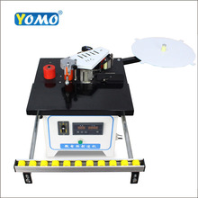 Máquina aplicadora de bandas de doble cara, Anillador de borde para trabajar la madera, pvc