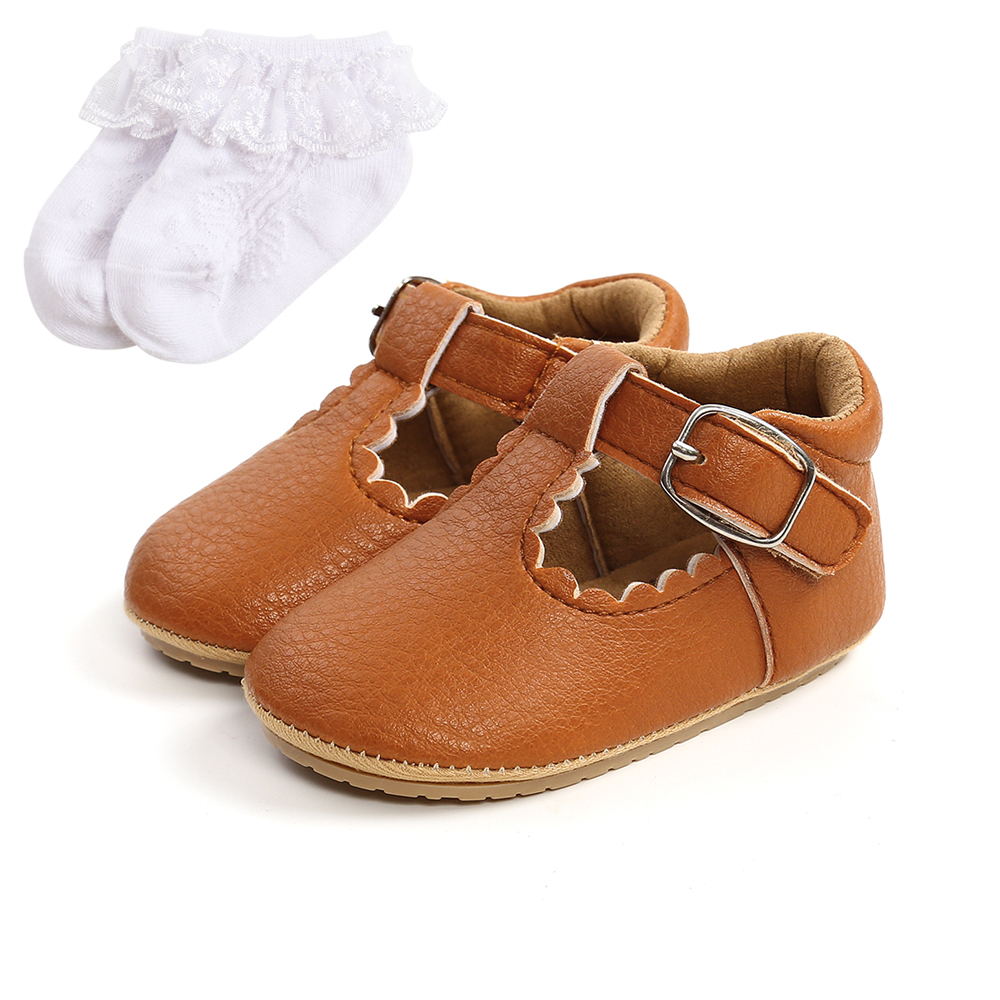 Luxury Soft Leather Baby Princess Shoes Newborn Girls Moccasins Shoes Rubber Sole Prewalker Non-slip Hollow Summer First Walkers 5