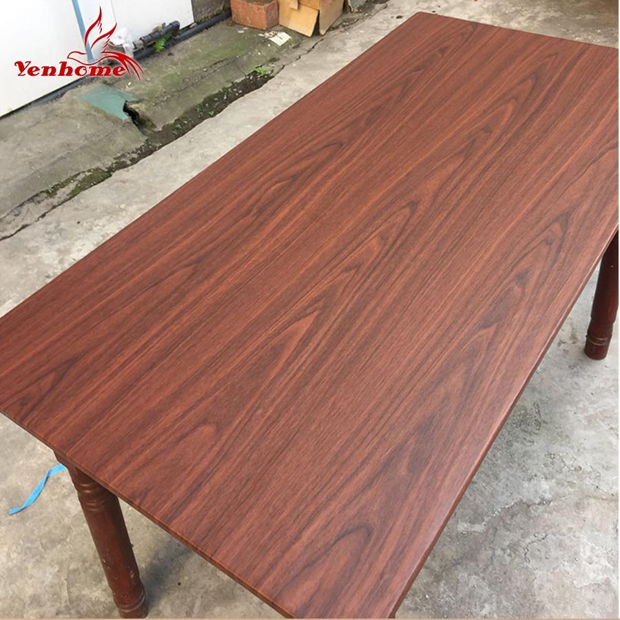 Closeout DealsPVC Wallpaper Wrap Decorative-Film Desk-Door Furniture Vinyl Wood-Grain Self-Adhesive