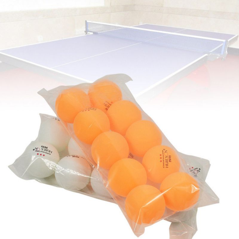 10 Pcs/bag Of Professional Table Tennis 40mm Diameter 2.9g 3 Star Table Tennis Competition Training-yellow