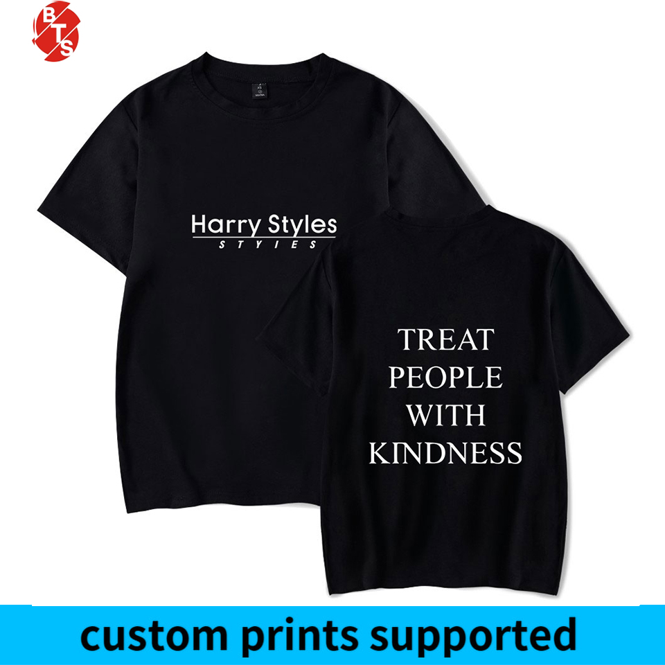Harry Styles Treat People With Kindness Summer T-shirts Women/Men Short Sleeve Trendy Printed Tshirts Fashion Casual Tee Shirts