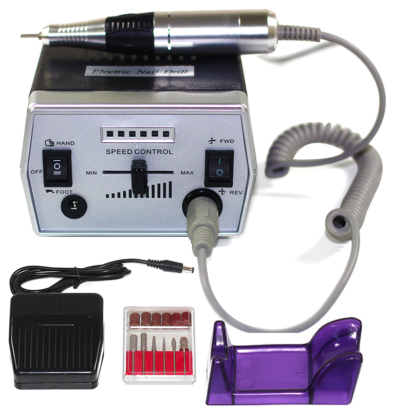 30000RPM Pro Electric Nail Drill Machine Electric Manicure Machine Drills Accessory Pedicure Kit Nail Drill File Bit Nail Tools