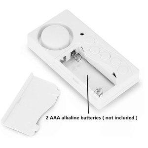 Onvian de apertura de puerta inalámbrico de Sensor retardo de Tiempo puerta Sensor alarma Puerta de puerta y ventana de seguridad de alarma de seguridad