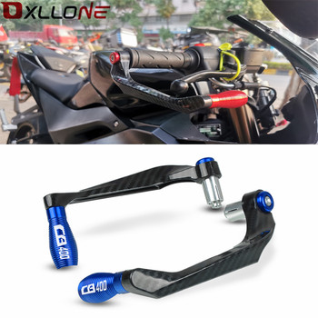 motorcycle 7 8 22mm lever guard handlebar grips guard brake clutch levers protector moto accessories for honda cb400 1992 1998 Motorcycle 7/8 22mm Lever Guard Handlebar Grips Guard Brake Clutch Levers Protector Moto Accessories For HONDA CB400 1992-1998
