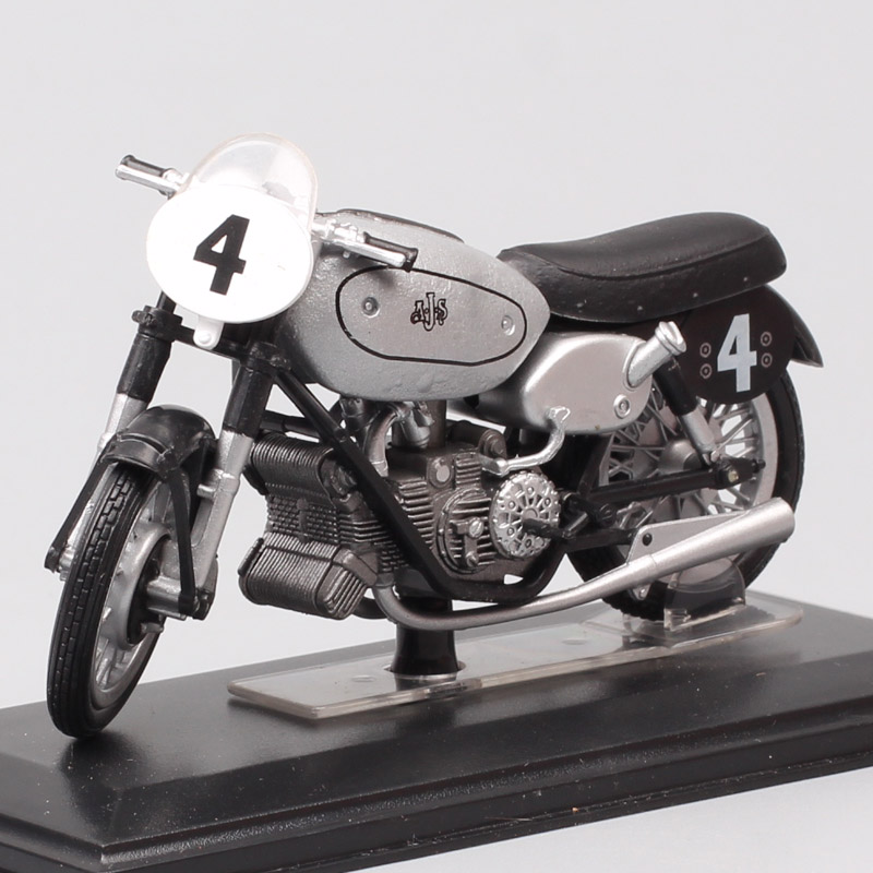 1/22 Scale Italeri AjS E90 500cc World Champion 1949 Rider No.4 L. Graham Motorcycle Diecasts & Toy Vehicles GP Moto Bike Model