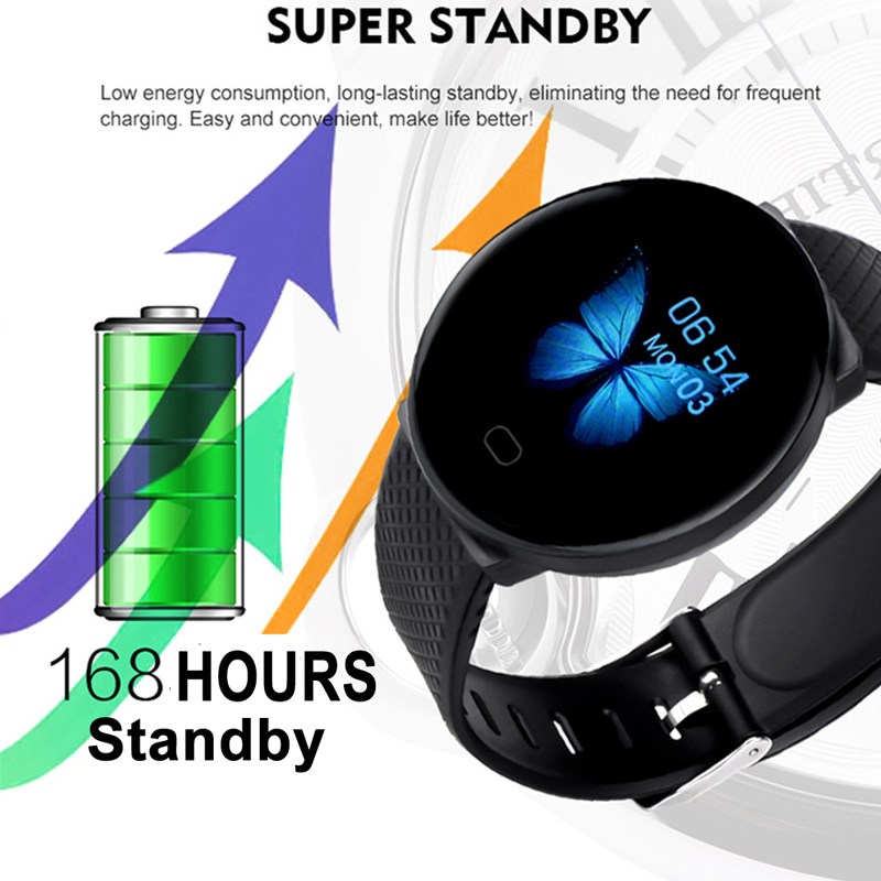 Smart Watch Men 1.3'' Screen Fitness Tracker Ip67 Waterproof Blood Pressure Heart Rate Monitor Smartwatch Woman For Android IOS 6