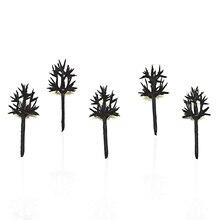 1000 unids/lote 3cm armadura de árbol para tren Set paisaje modelo de rama de árbol