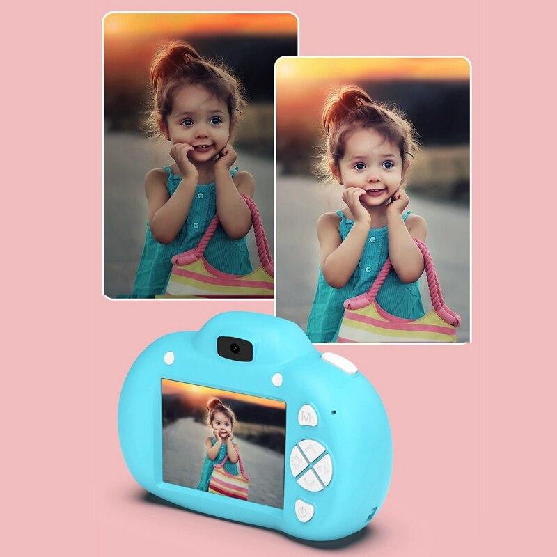 Children Mini Camera Smart Camera Children's Digital Camera 20 Million Pixels + Flash