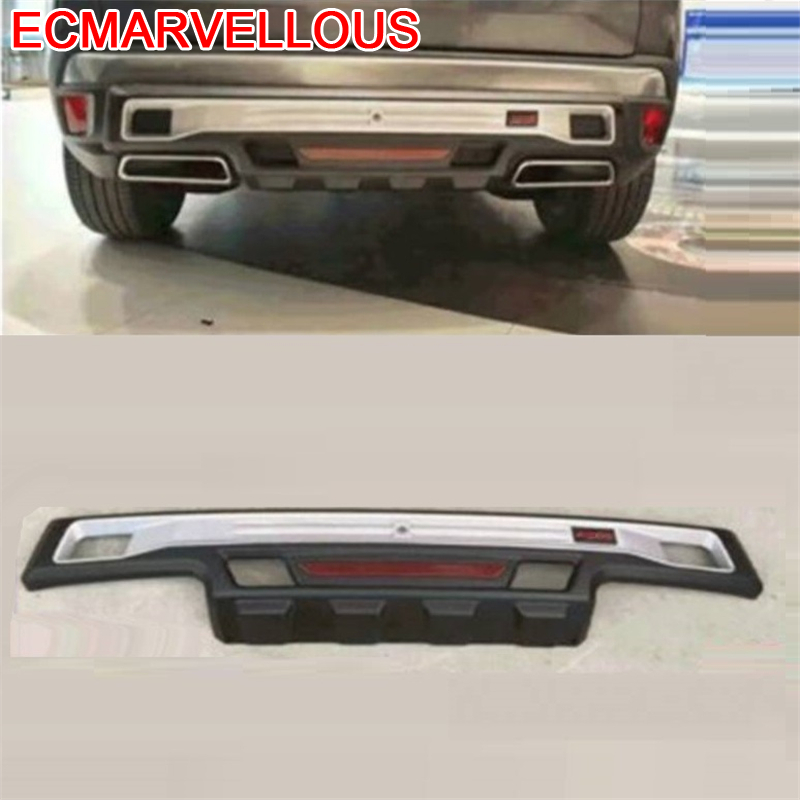 tuning Front Car Lip Rear Diffuser Decorative Parts Upgraded Automovil Modified Bumpers protector 16 17 18 FOR Peugeot 4008 in Bumpers from Automobiles Motorcycles
