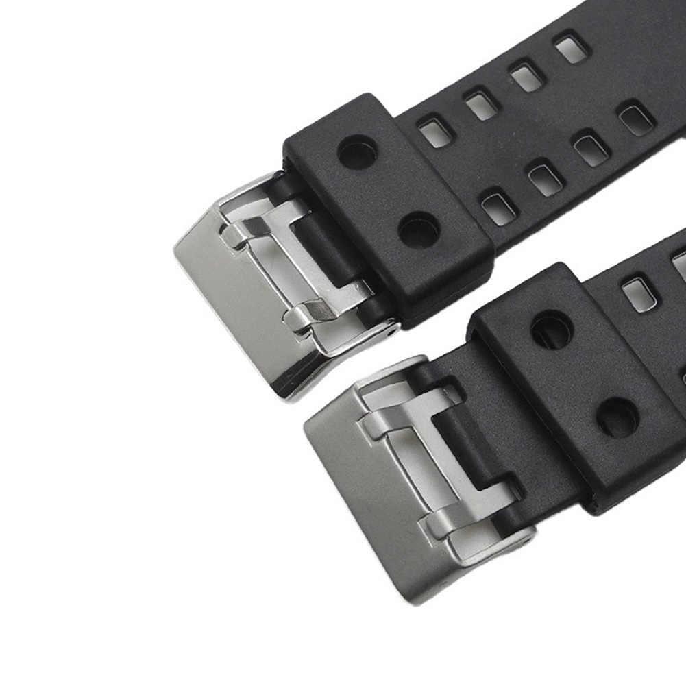Seri 1/2/3/4/Karet Silicon Olahraga Band Pengganti Adjustable Watch Band Wrist Strap untuk casio GA-110GD120GA-100GA-100C