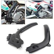 Motocross x-frame guarda proteção quadro guardas capa para husqvarna fc fe tc tx te ktm exc EXC-F sx SX-F 125/250/350/450/500/505