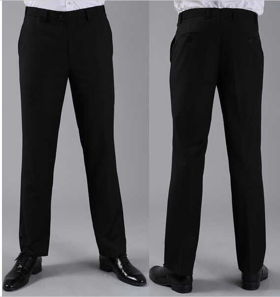 2020 Degli Uomini Vestiti di Pantaloni di Affari di Modo Convenzionale di Promenade casual Pantaloni Dritti Primavera Autunno Inverno Custome Ha Fatto il Personale
