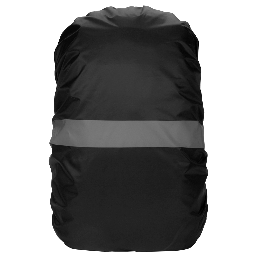20-100L Waterproof Sports Backpack Cover Bag Rain Cover With Reflective Strip Cycling Camping Hiking Mountaineering Case Black